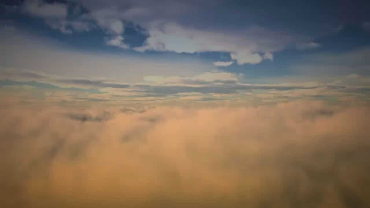 tło chmury